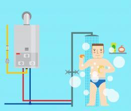 Gas water licht aansluiten - Water