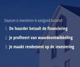 Investeren in vastgoed is lucratief